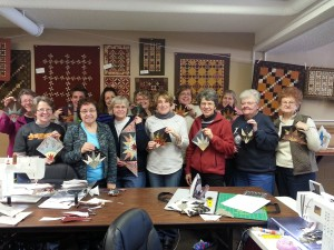Farmers Star class at Sewing Seeds, New Ulm, MN (Feb '14).